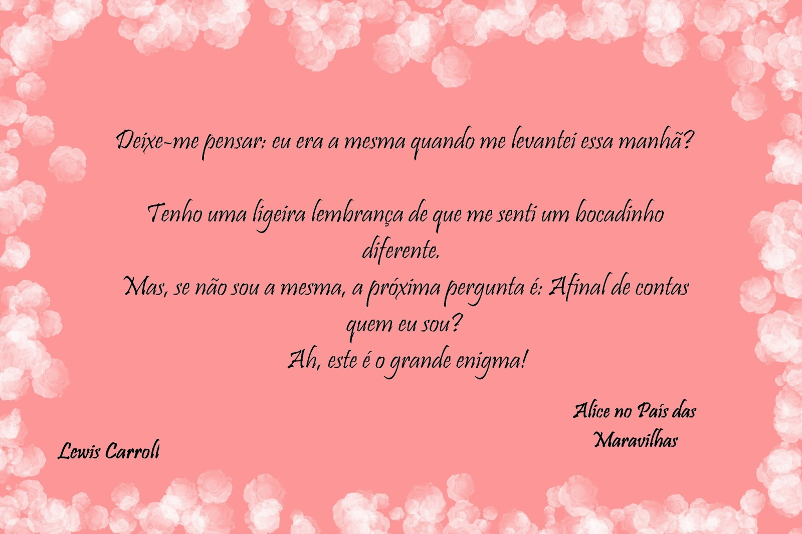 Tag Frases Alice No Pais Das Maravilhas Em Ingles