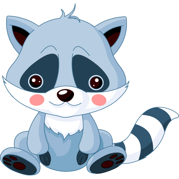 Cute Raccoon Icon