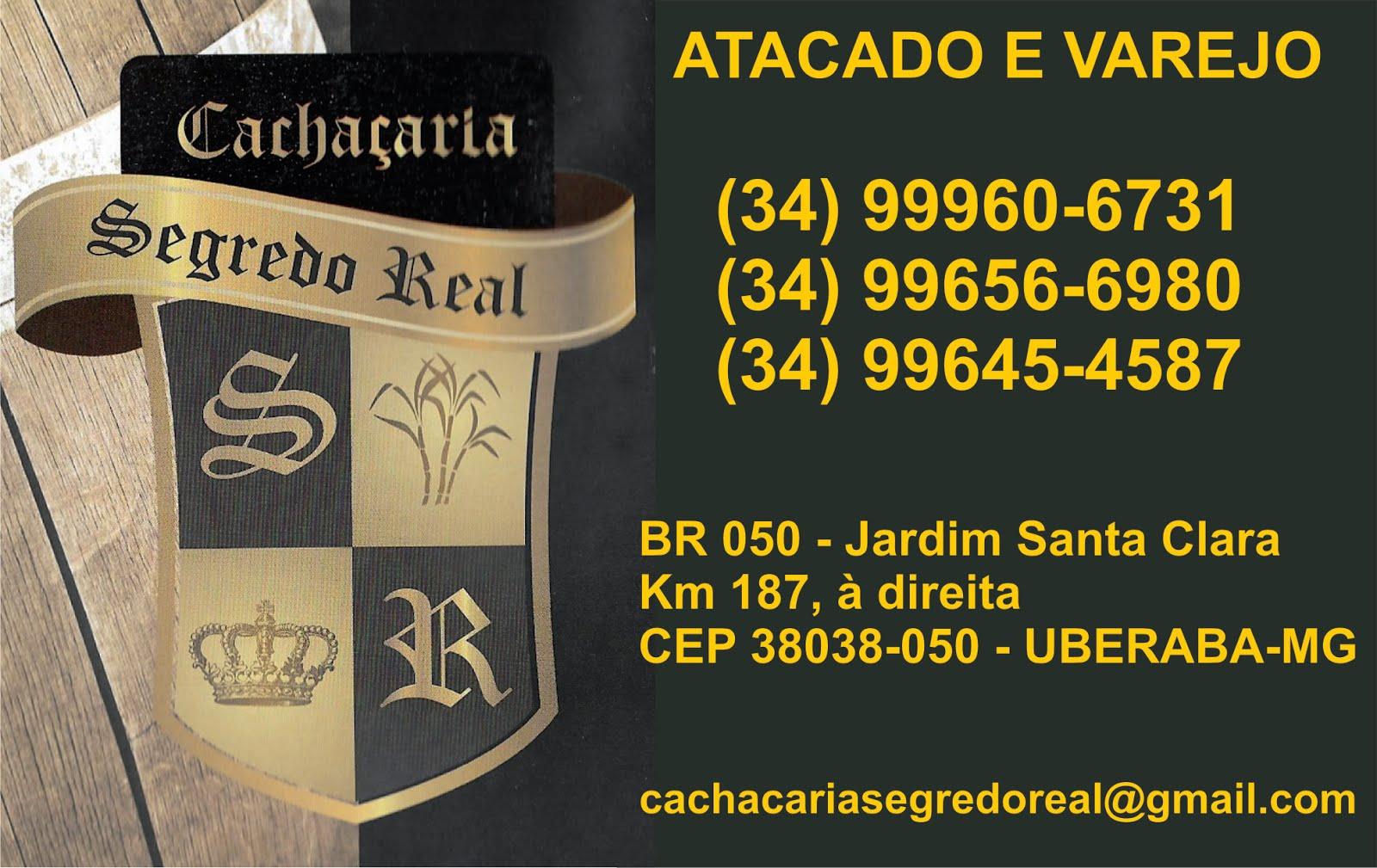 CACHAÇARIA SEGREDO REAL