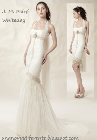 Vestido novia desmontable Whiteday JMPeiro