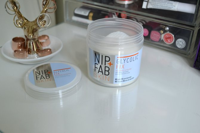 Nip + Fab Glycolic Fix Facial Pads