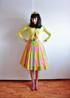 Welcome to my blog about vintage dresses. I hope you will love it here as much as I do.