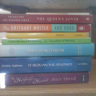 rainbow book stack on instagram