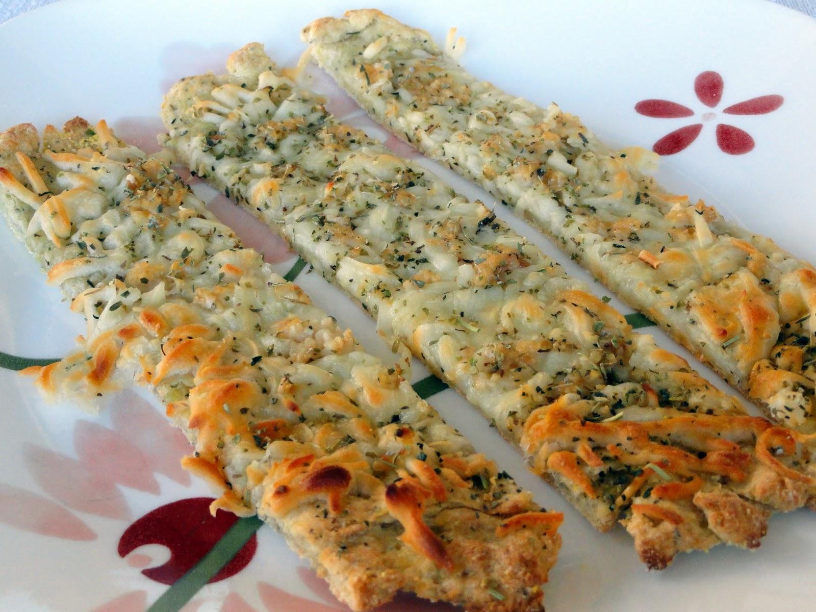 As Good As Gluten: Garlic Cheese Breadsticks