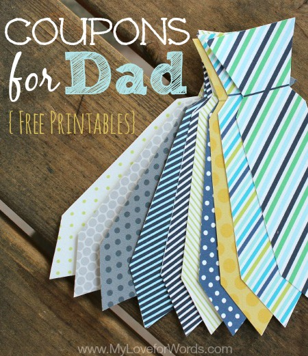 30+ Last Minute Father's Day Printables