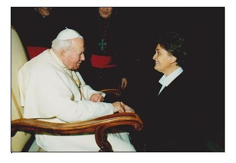 --- Audience de Jean Paul II ---