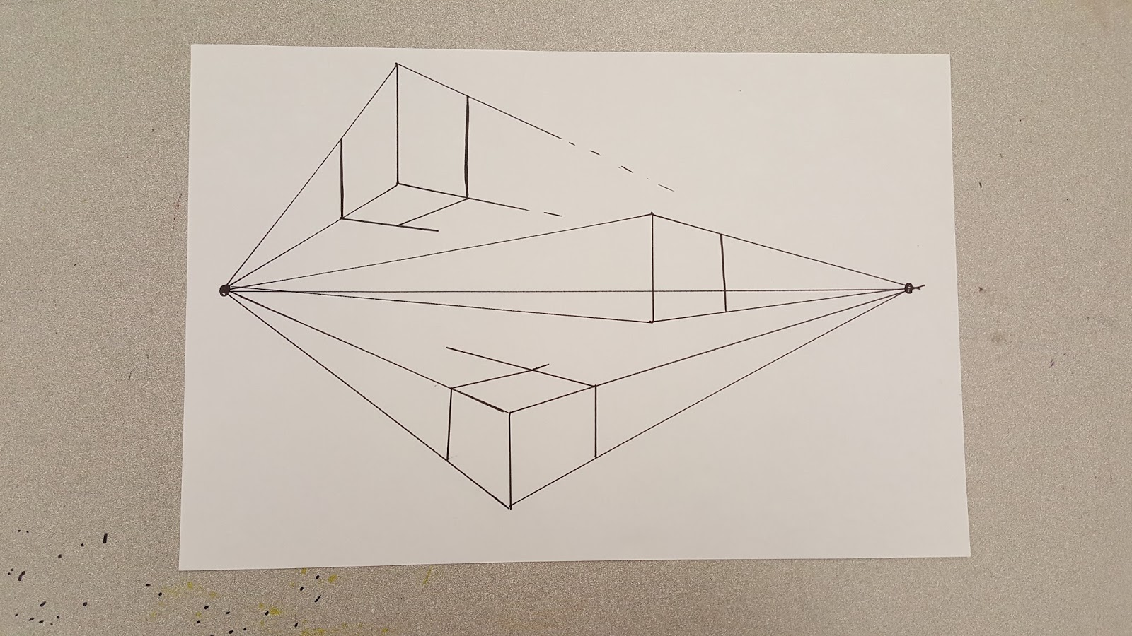 Line Drawing In Html : Nathan smith's art ed blog: week #3: perspective drawing exercise