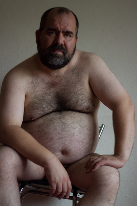 Hairy Chest Guys Naked Old Fat Man Belly
