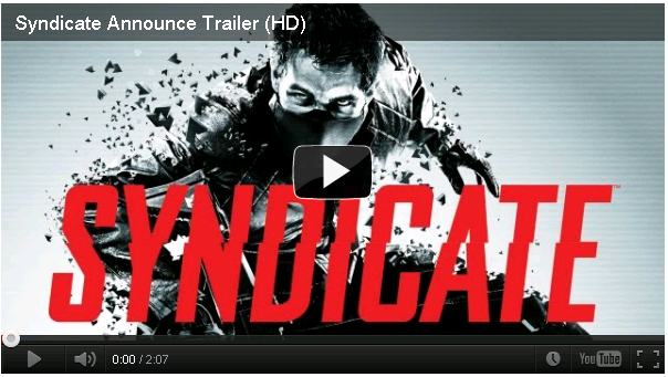 Trailer del Juego para PC Syndicate [720p HD] 2012