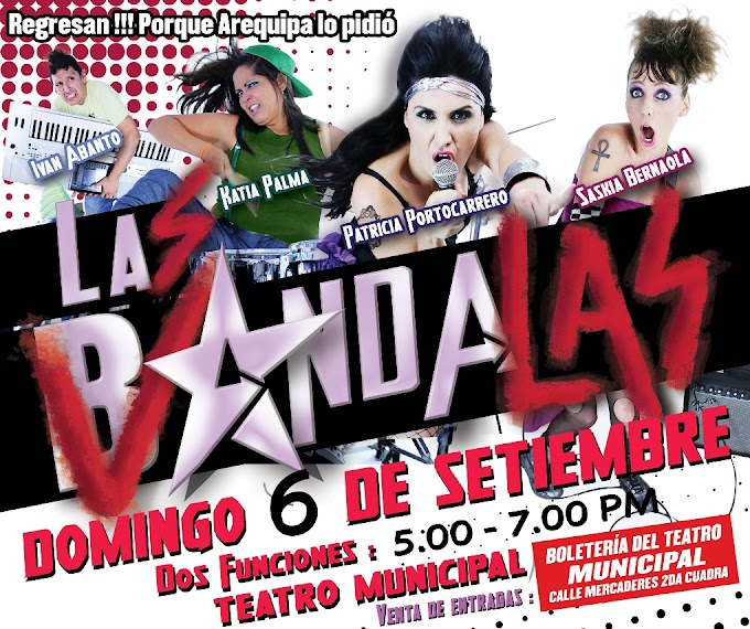 Las Bandalas en Arequipa - 06 de setiembre