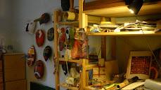 Vues de l'atelier de Céline Rodriguez à Beure 2011