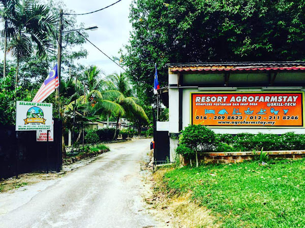 Agrofarmstay@Skill Tech : Lokasi terbaik untuk berkursus di Melaka.