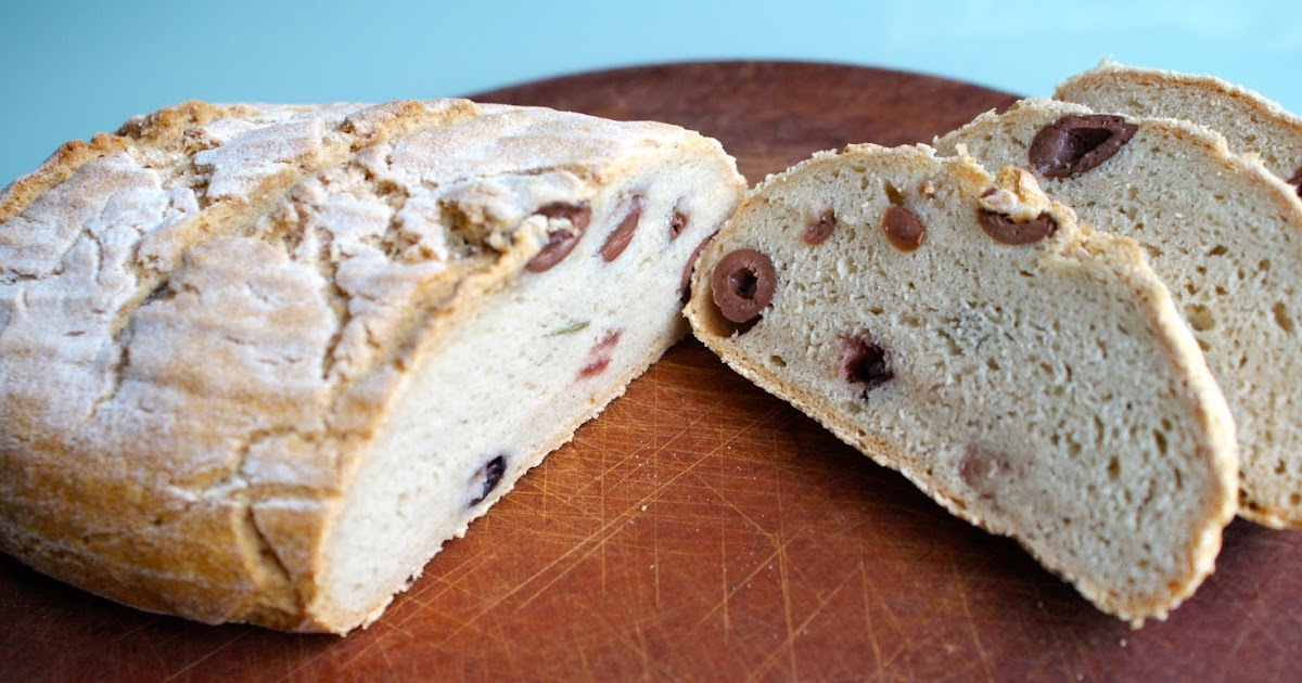 ... ! Gluten-free Olive Rosemary Loaf From New Cascadia Traditional