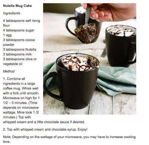 Rezept fur kuchen aus der tasse