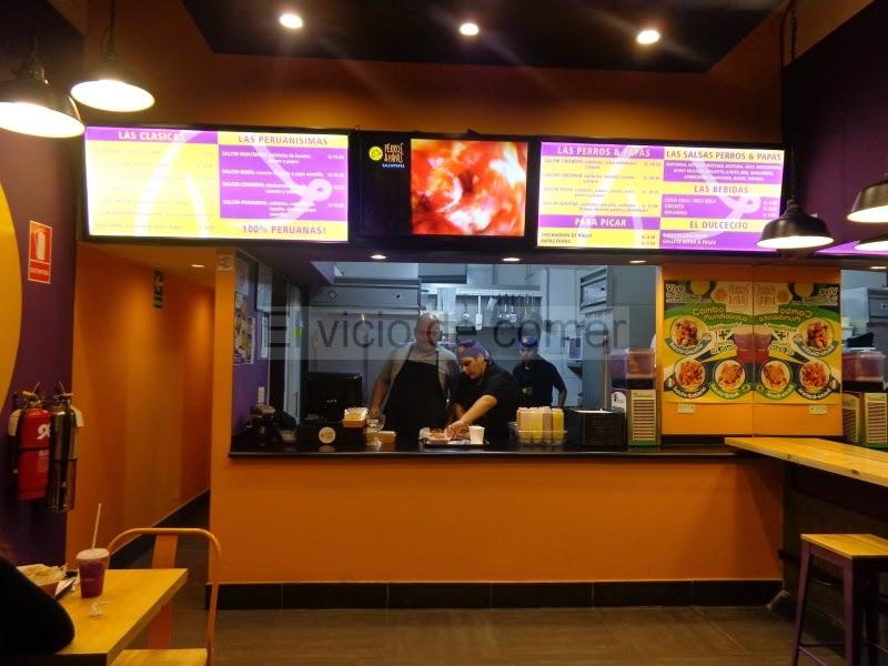 El vicio de comer de la comida no tan r pida for Fachadas de locales de comida rapida