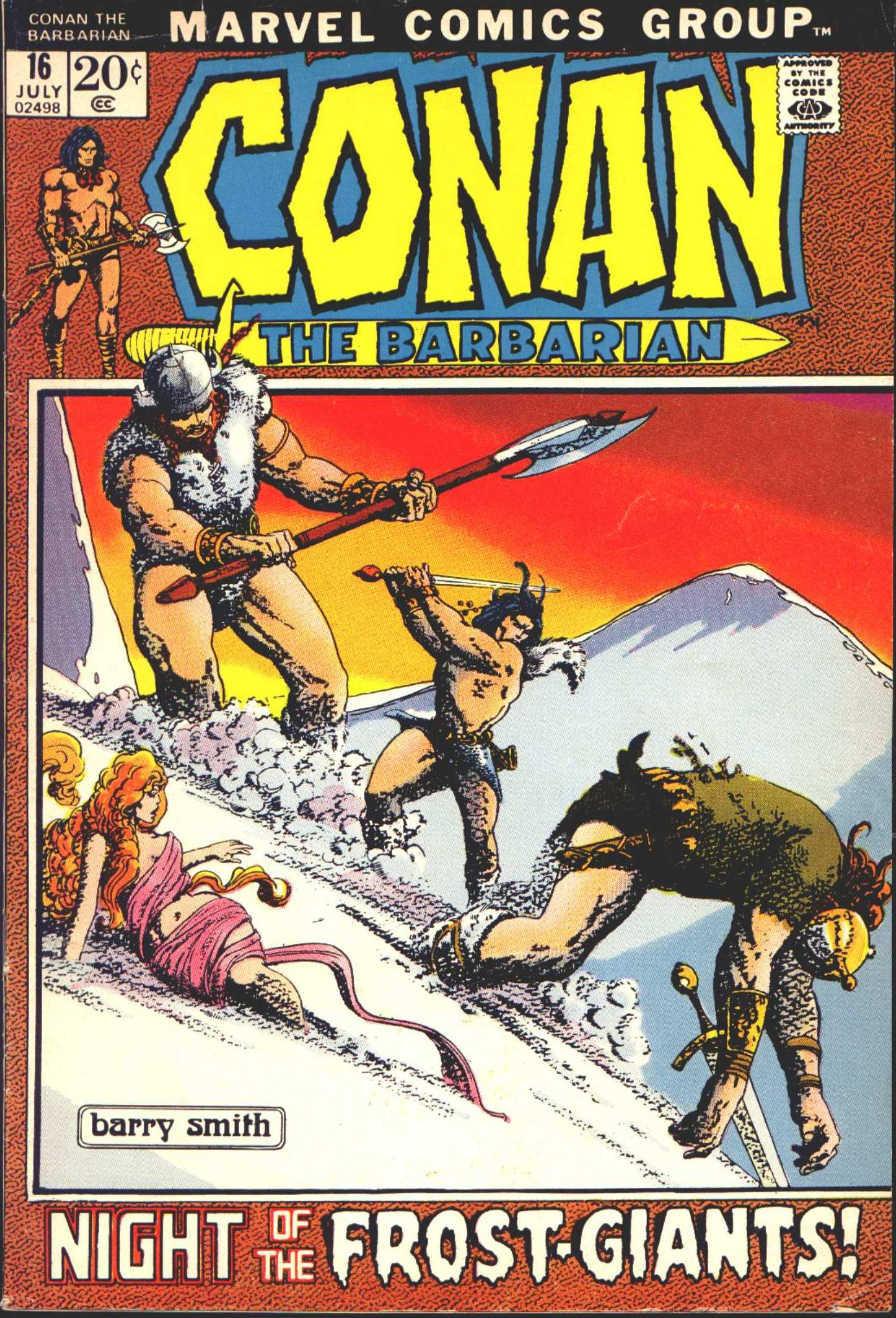 Conan the Barbarian (1970) 16 Page 1