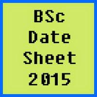 University of Karachi UOK BSc Date Sheet 2016