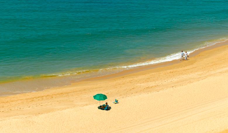 Praia da Rocha Baixinha Portugalia Algarve plaże przewodnik najlepsze najpiękniejsze.jpg