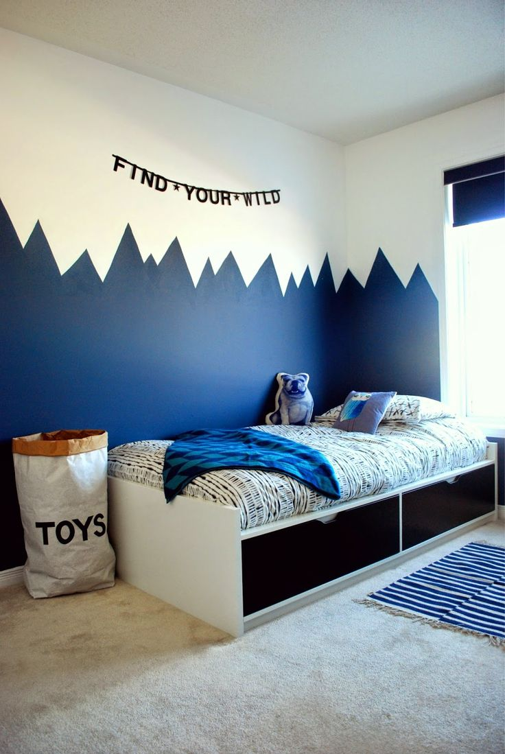 The boo and the boy my top 20 kids 39 room pins of 2015 for Paint boys bedroom ideas