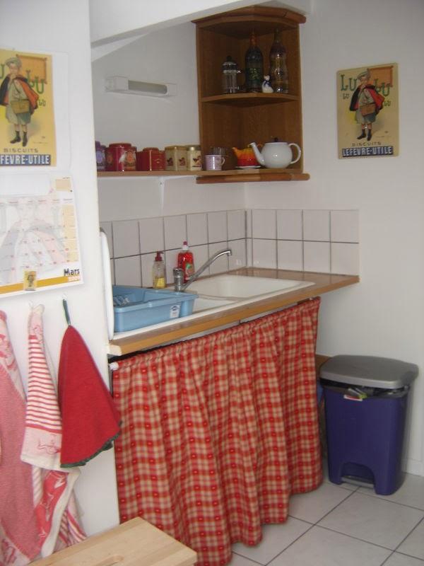 Id e d co rideaux cuisine moderne modele cuisine - Des rideaux de cuisine ...