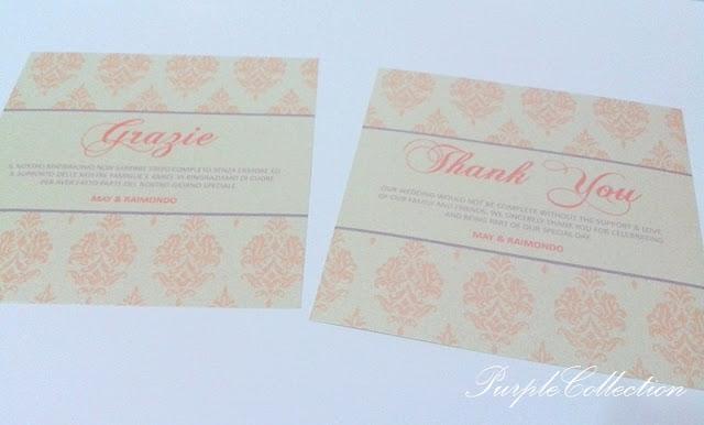 Thi White Orange Damask Wedding Invitation Card, Thi White, Thi, White, Orange, Damask, Wedding, Invitation, Card, Wedding Invitation Card, M&R