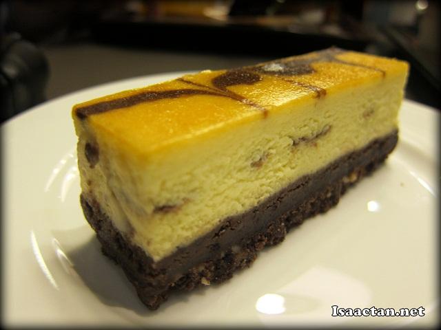 Mocha Marble Cheese Cake - RM9.90