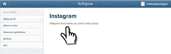 como mudar a senha do instagram quando esquece