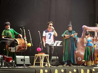 Tikitiklip y Gepe en Lollapalooza Chile