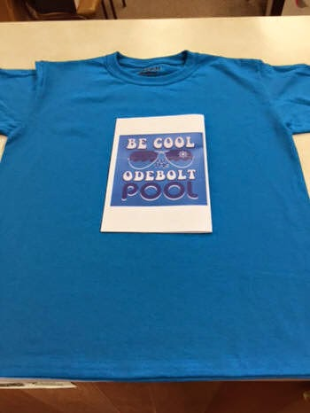 Support our POOL.  Buy a T-Shirt!