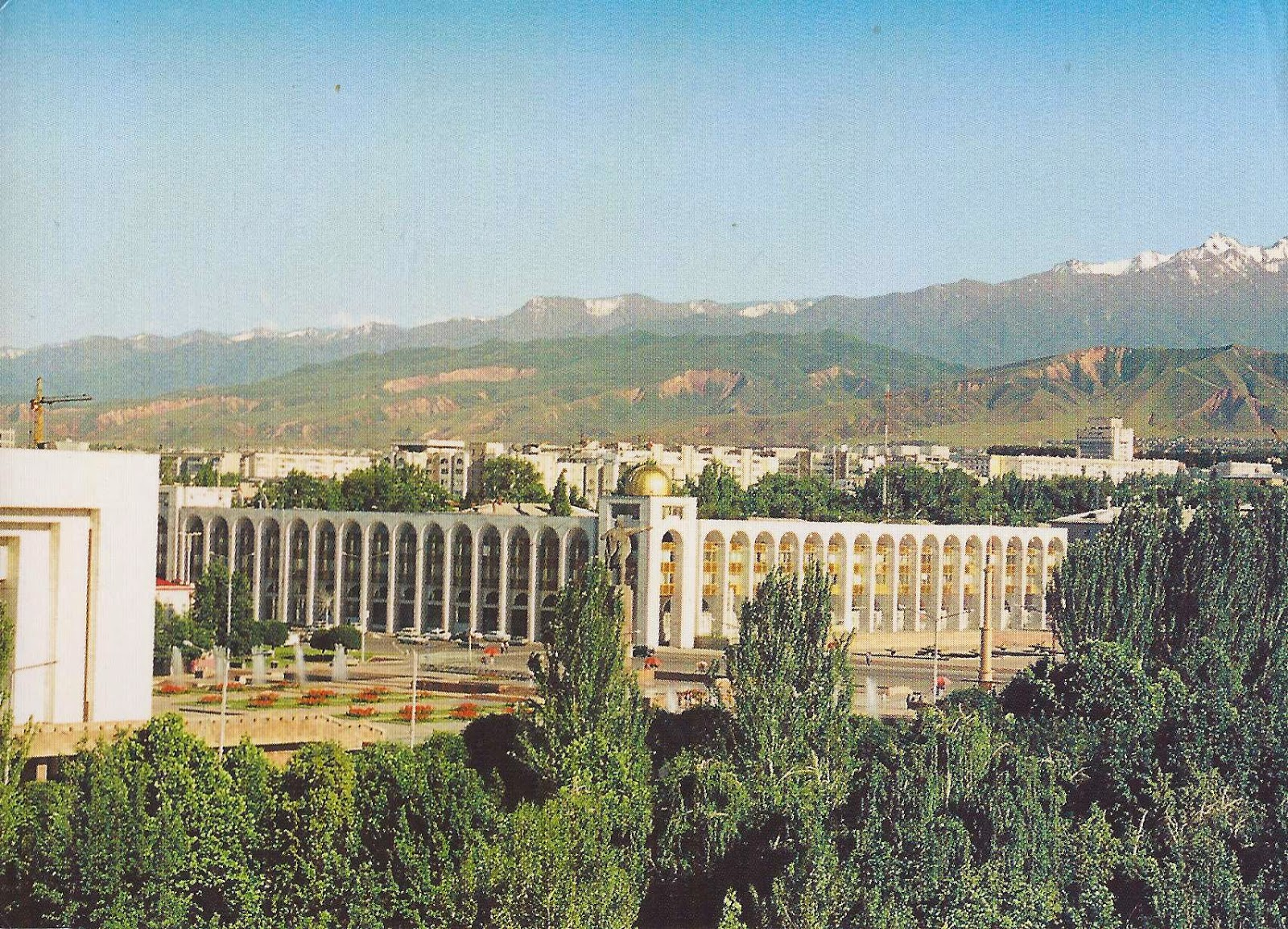Bishkek Kyrgyzstan  city photos : Journey of Postcards: Bishkek, capital of Kyrgyzstan