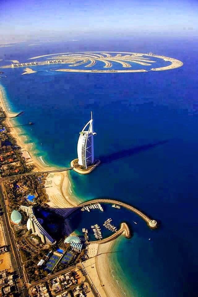 Burj Al Arab y The Palms