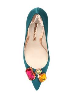 Sophia Webster bejeweled high heeled pumps