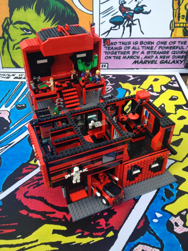 Lego Deadpool Build