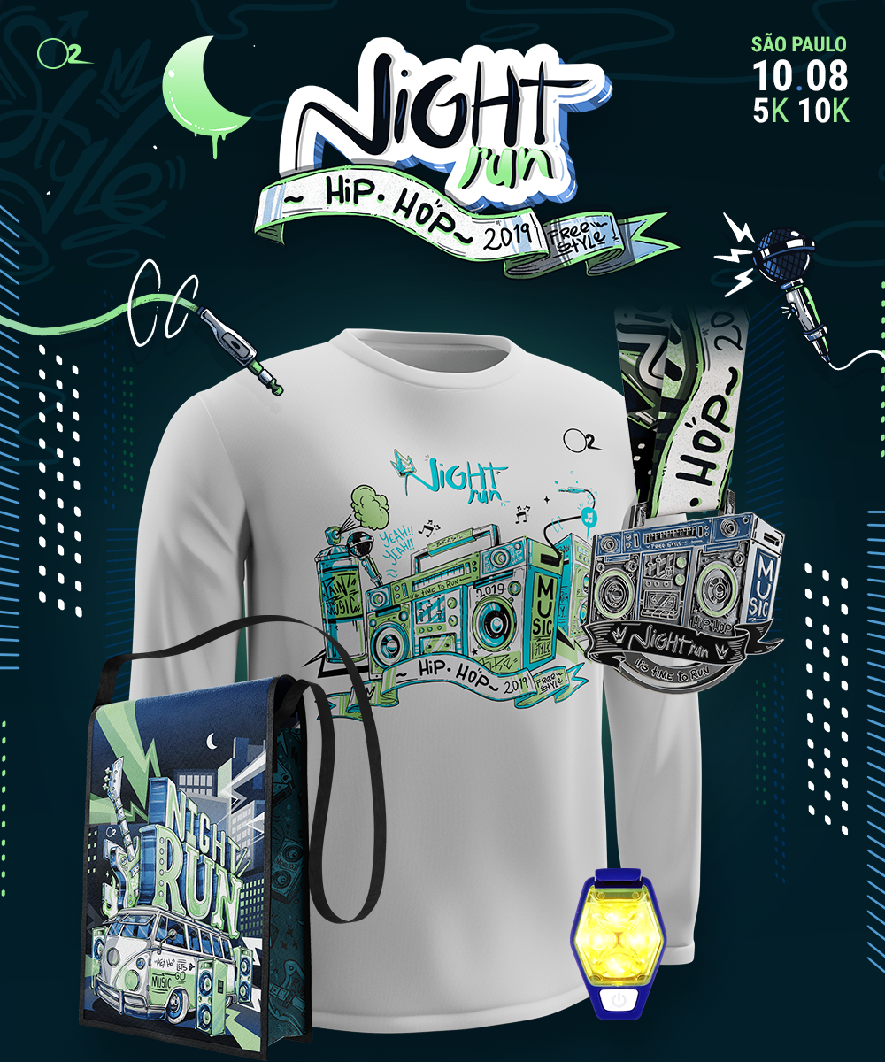 10/8 - NIGHT RUN - HIP HOP