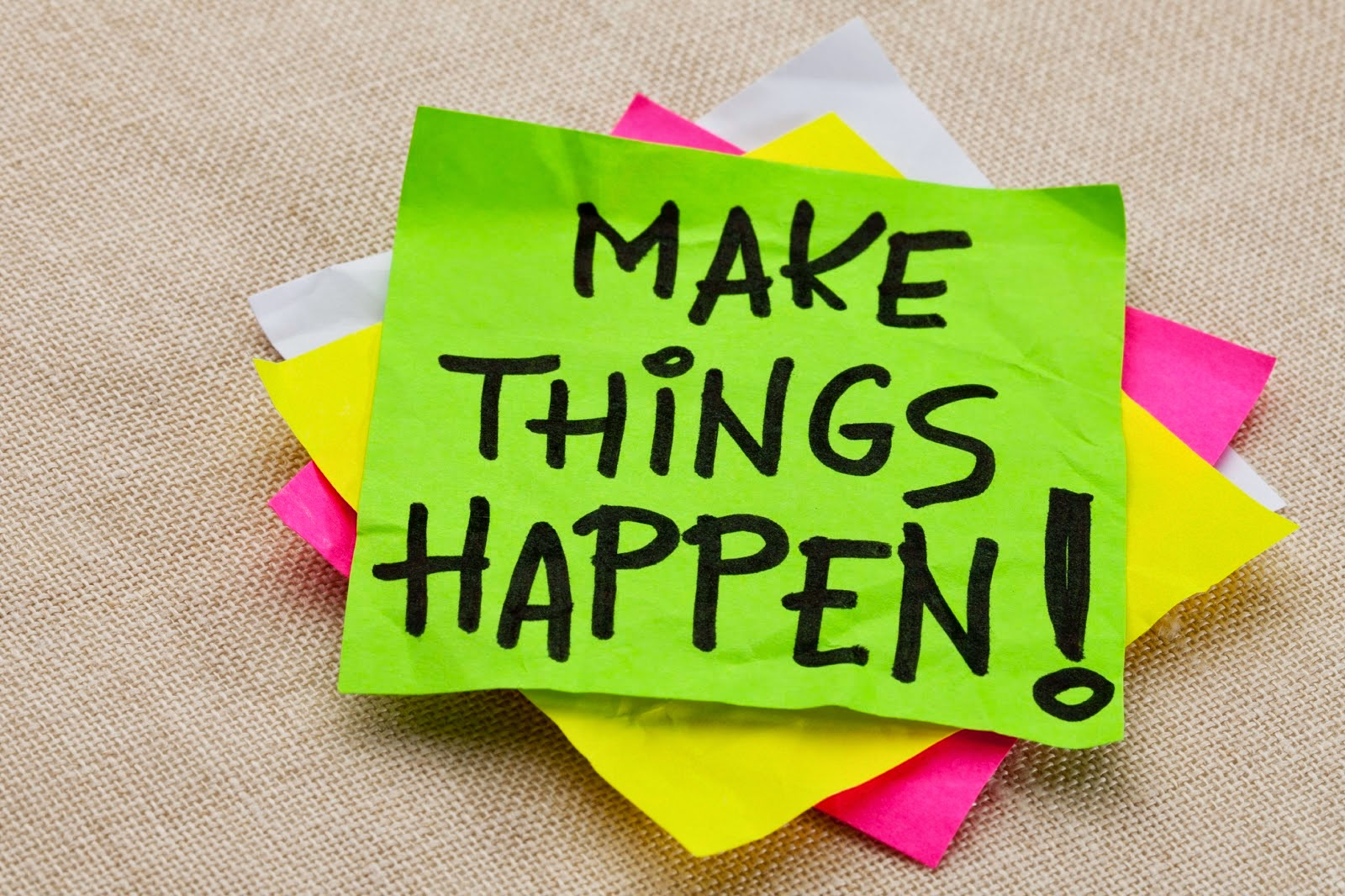 Make things happen, Failing Forward, Seeing Failure as a Positive Experience in your life, focus on your personal development, www.HealthyFitFocused.com