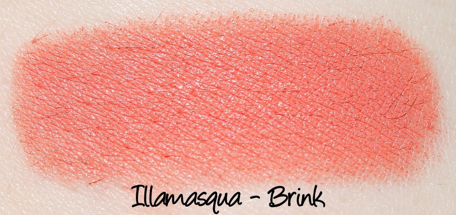 Illamasqua Brink Lipstick Swatches & Review