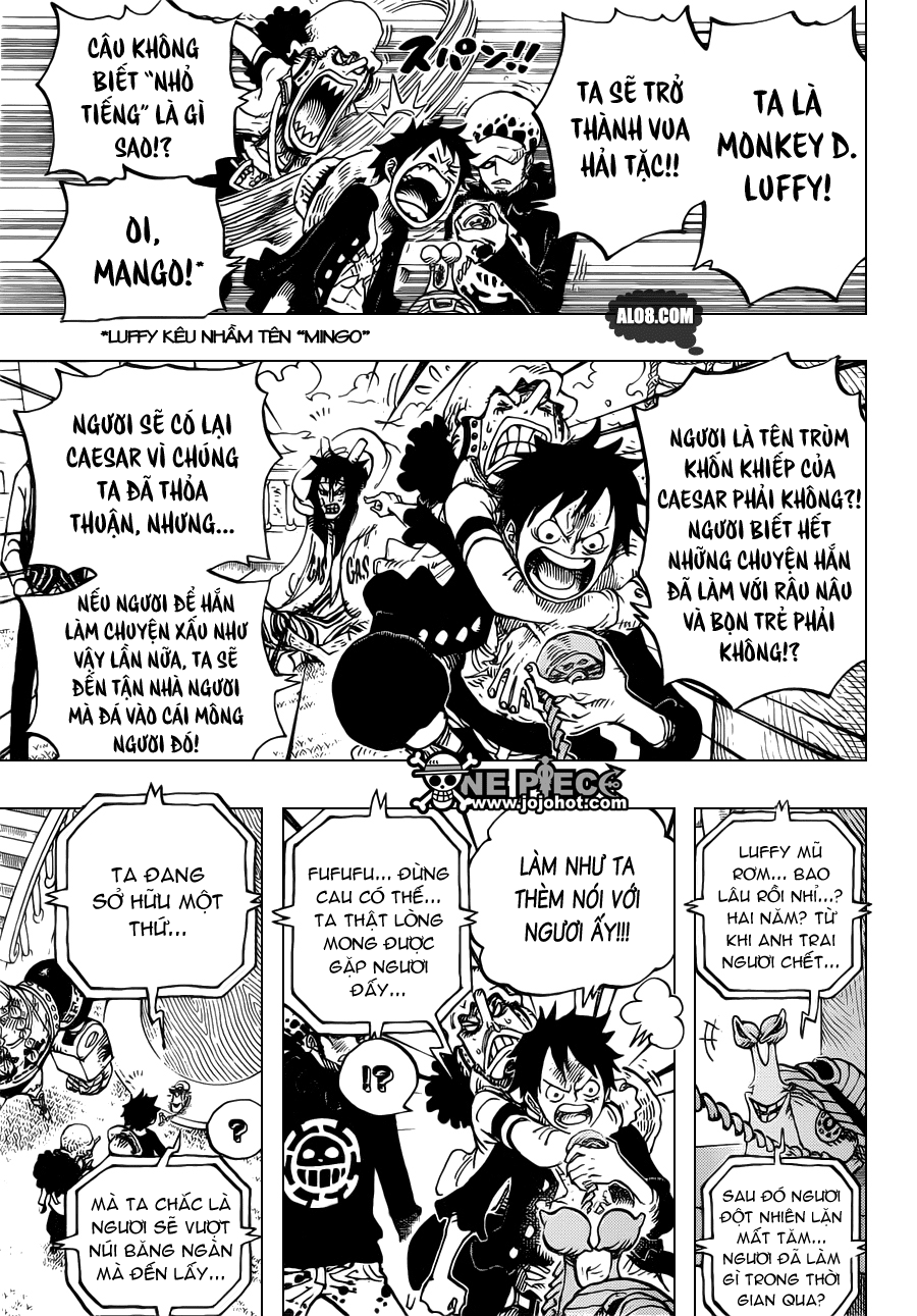 One Piece Chapter 700: Nước cờ 005