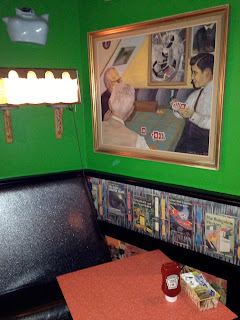 Funky Diner - Green Walls Artwork