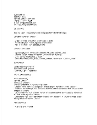 Awesome Be Sure To Create The Electronic Résumé In Plain Text. Donu0027t Use Any Fancy  Fonts Or Bolding, Italics, Or Underlining. Since A Human May Eventually  Read This ...  Electronic Resume