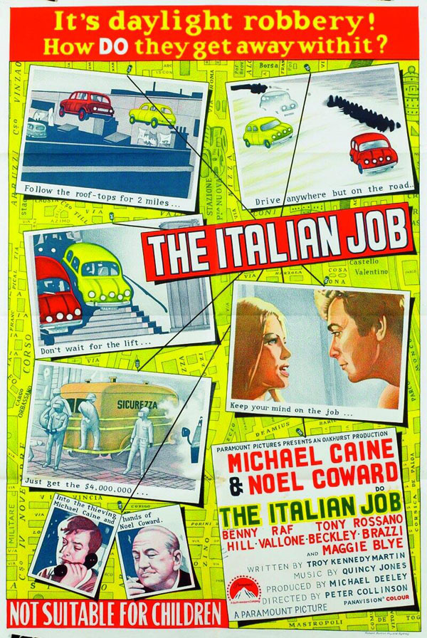 a2zPosters: The Italian Job (1969) - 243.6KB