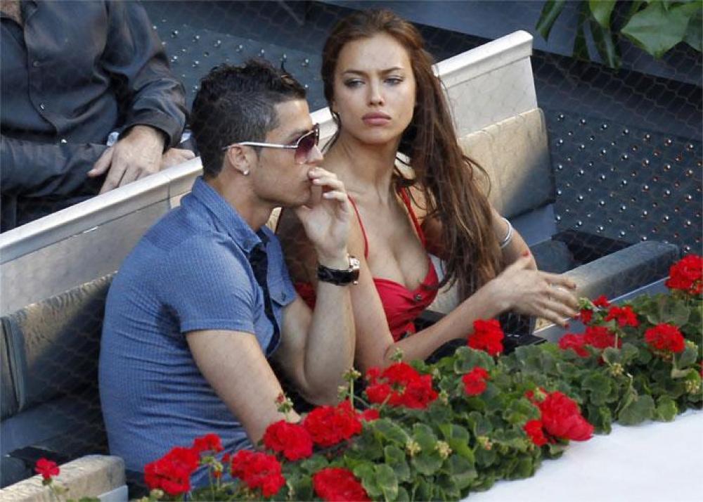 Cristiano Ronaldo And Irina Shayk 2013 Cristiano Ronaldo With Irina