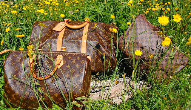 Louis Vuitton Canvas Speedy, Damier Speedy 30 and Keepall.