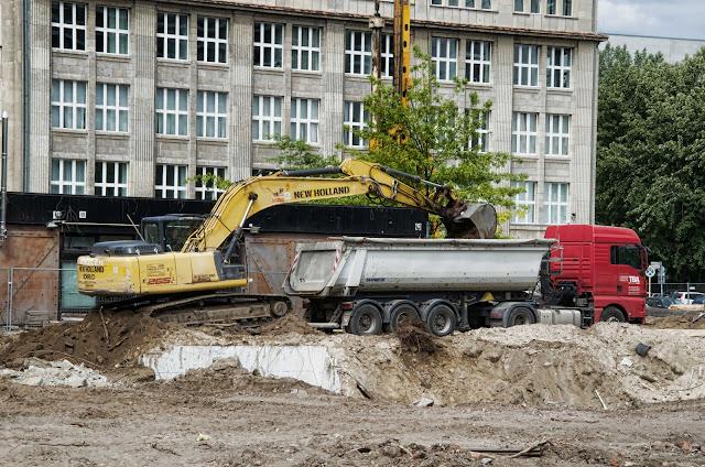 Baustelle Margrafenstraße, Krausenstraße, Schützenstraße, Jerusalemer Straße, 10117 Berlin, 04.06.2014