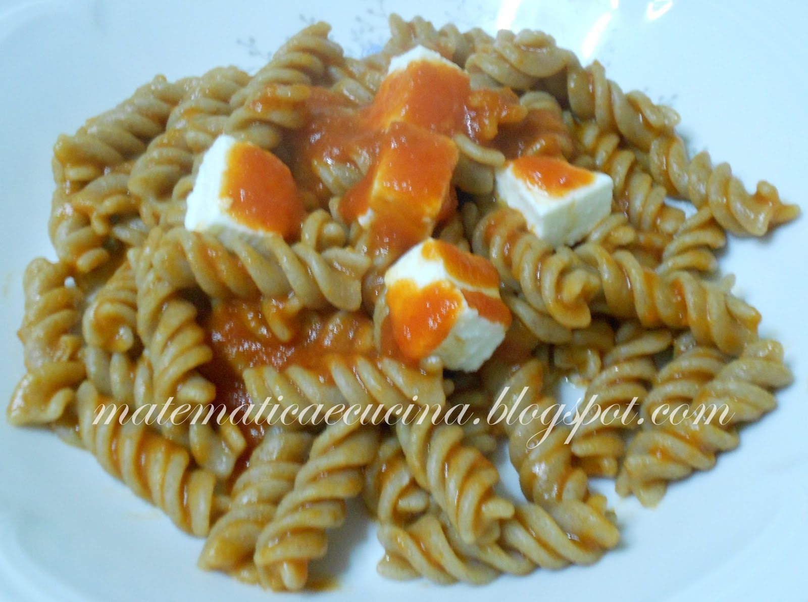 Fusilli di farro integrale con ricotta blogs de cuisine for Cuisine integrale
