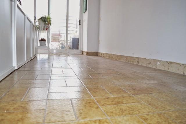 Diy el cambio del suelo de mi casa con las laminas de - Tipos de suelo para casa ...