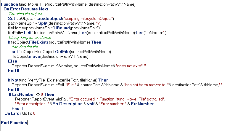 Blogs on QTP Automation: Error Handling in QTP