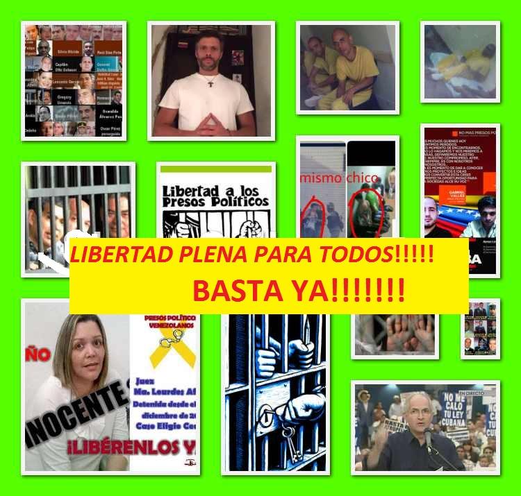 Firma petición por libertad de nuestros presos políticos (click en la imagen)