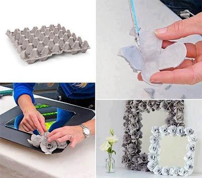 Idea para reciclar cartones de huevos