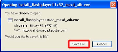 Tahap 2 Cara Install Adobe Flash Player