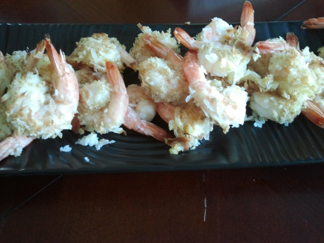 camamamacho in the kitchen: Skinny Coconut Shrimp
